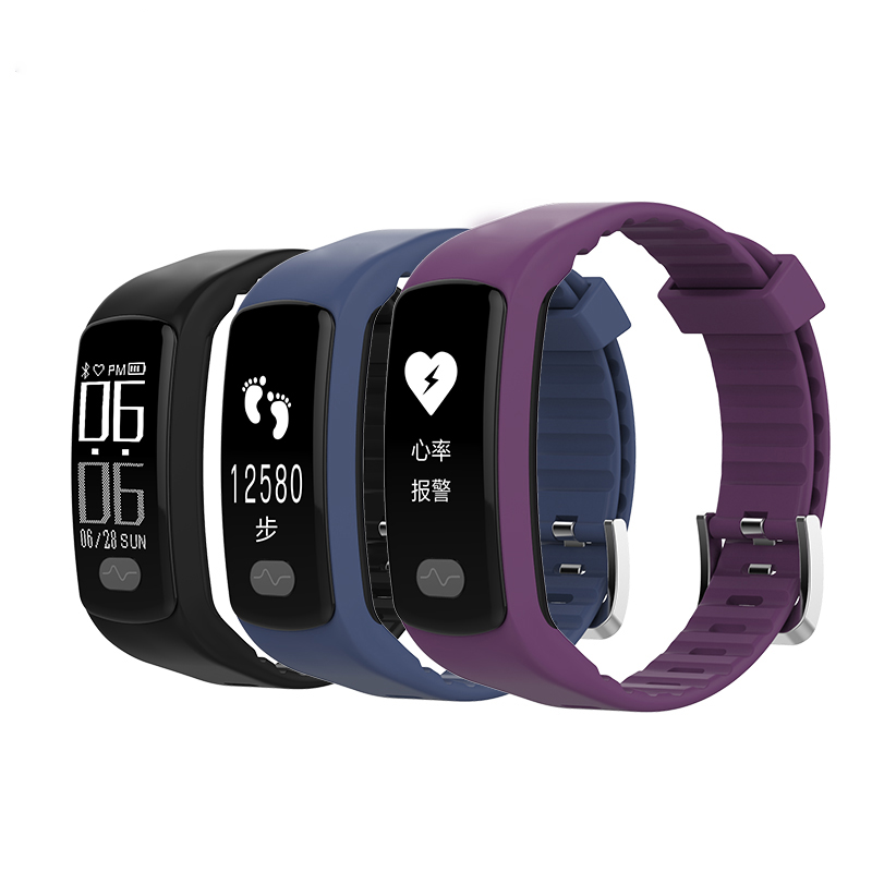 New Sports Smart Bracelet Heart Rate Monitor ECG+PPG Blood Pressure Fitness Band Pulse Wristwatch for Men and Women