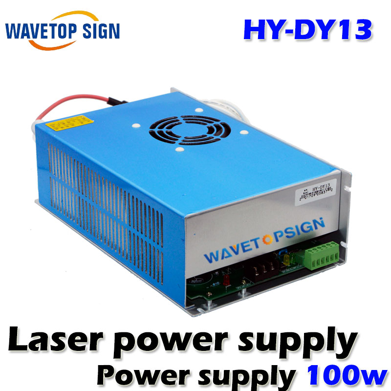 DY13 laser  Power Supply 100W for W4/Z4/S4 Reci Co2 Laser Tube Driver Engraving Cutting Machine reci w4 laser tube co2 100w upgrade z4 glass tube for laser engraving cutting machine