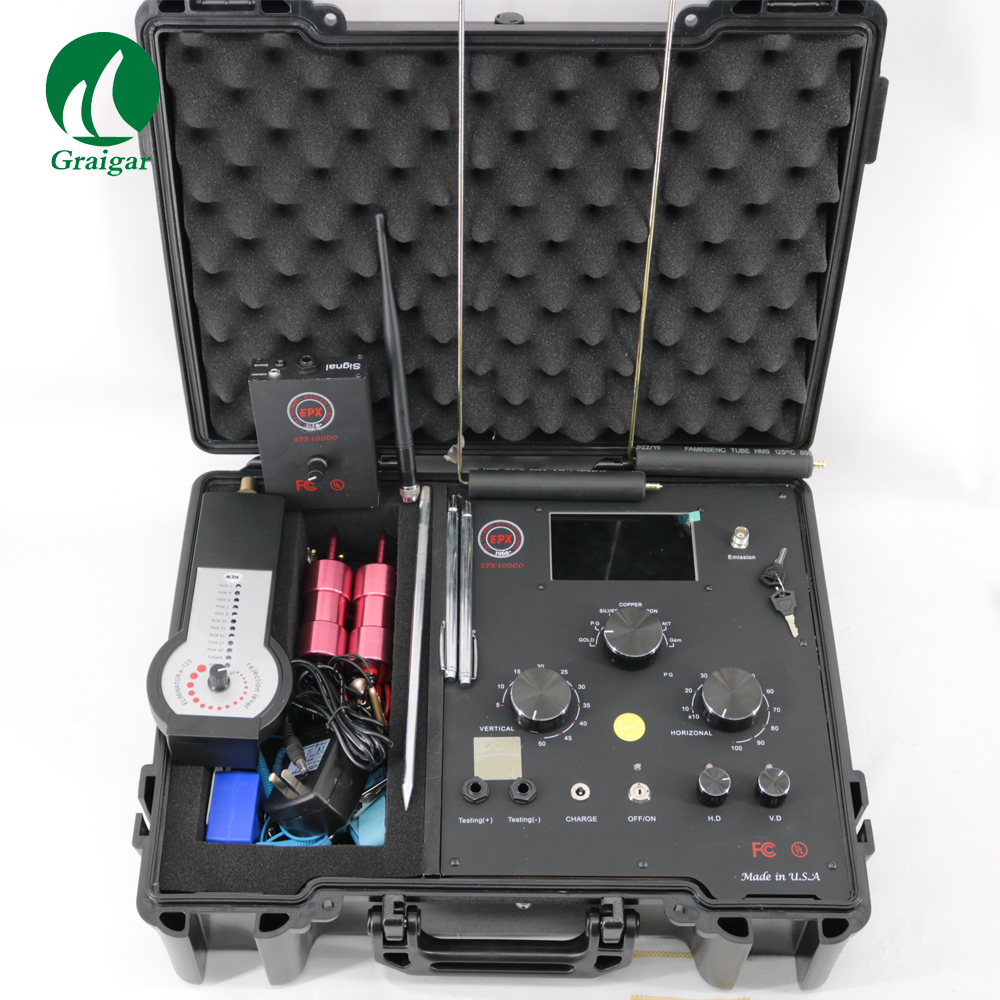 New EPX10000 Underground Metal Detector Long Range Gold Diamond Copper Silver Jewel Detector 3D Metal Detector new epx10000 long range metal detector underground metal detector depth 5 50m