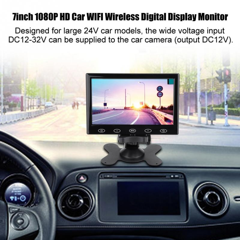 DC 12V 7 9 10 1 inch TFT Screen 1080P HD Car Auto WIFI Wireless Digital