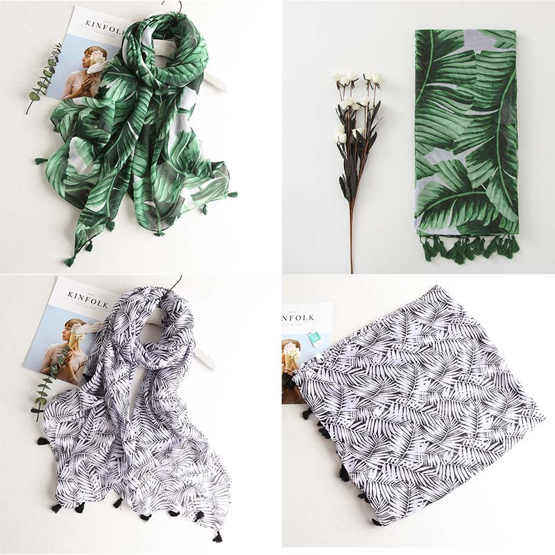 HTB1C BMQSzqK1RjSZFLq6An2XXaz - VISROVER Fashion Summer Scarf For Women Scarf For Lady Viscose Shawl Tropical Print Scarf Head Luxury Brand Beach Scarves Hijab