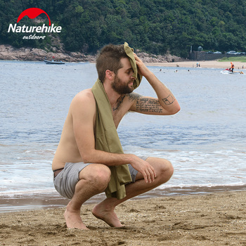 Naturehike factory sell Three Colors Quick Dry Travel Towel Microfiber Towel Sport Swimming Beach bath Towel Gym Towel 2