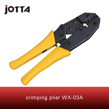 WX-03A crimping tool plier 2 multi tools hands  Ratchet Crimping Plier (European Style) high quality