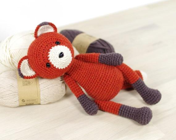 Zorrito rojo bebé, mi primer peluche – Otakulandia | 453x570