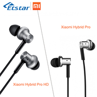Original Xiaomi Mi IV Hybrid Earphones Wired Control With MIC For Android IOS MI3 MI5 Redmi