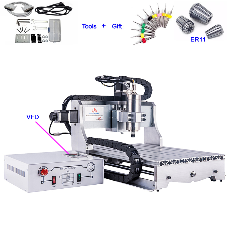 2200 W Mini CNC Kesme Makinesi 3040 2.2KW VFD CNC Metal Freze Oyma Makinesi CNC Router2200 W Mini CNC Kesme Makinesi 3040 2.2KW VFD CNC Metal Freze Oyma Makinesi CNC Router