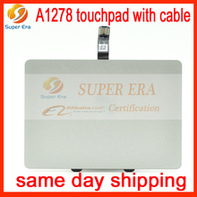 New Genuine TRACKPAD TOUCHPAD w/ CABLE For Apple Macbook Unibody A1278 trackpad mousepad with cable 2009 2010 2011 2012year