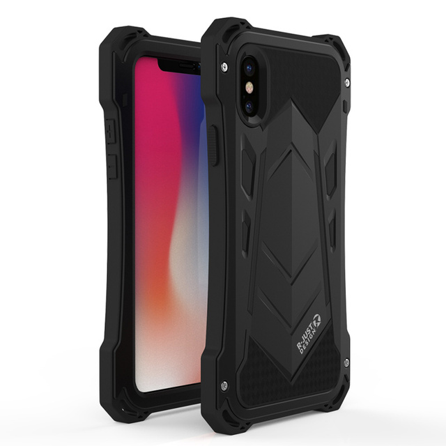 360 Full Cover Waterproof Phone Case For Iphone XHybrid Armor