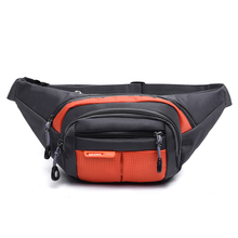 8 Color Unisex Functional Fanny Bag Waterproof Running Waist Pack Money Phone Belt Bag Canvas Hip Bum Bag Portable Belt Bag