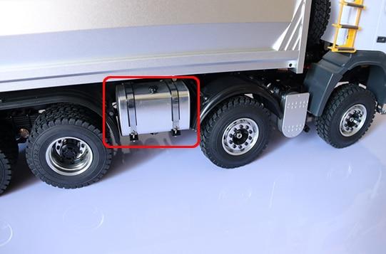 1/14 RC Hidrolik Dump Truck 8x8 Yağ qabı