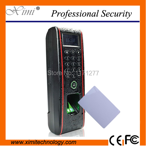 Waterproof good quality linux system TCP/IP fingerprint access control security door lock TF1700 biometric fingerprint reader