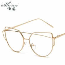 2018 Fashion Women Glasses Frame Men Eyeglasses Vintage Clear Lens Optical Spectacle