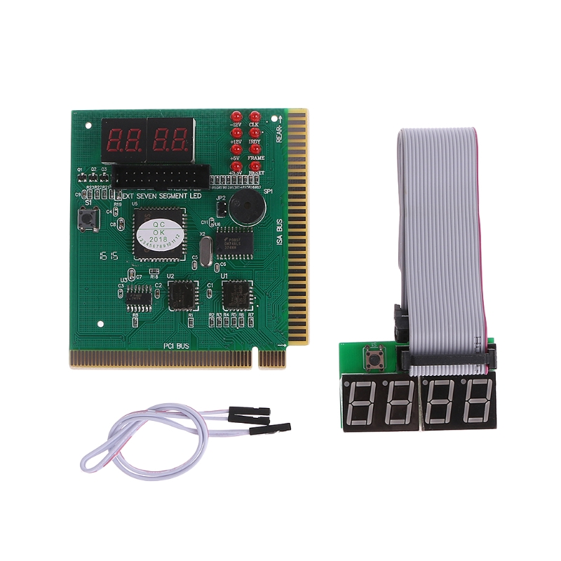 4 Digit PC ISA PCI Analyzer Diagnostic Test Post Card New