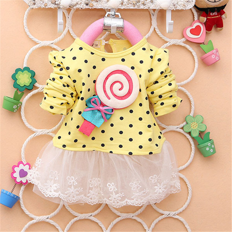 2017-Newest-Autumn-Spring-Kids-Sweater-Greatly-Lollipop-Full-Version-Dot-Girls-T-shirt-Stitching-Baby-Girls-lace-Dresses-H75-2