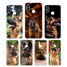 Silicone Phone Case Shepherds Dog German Printing for Xiaomi Mi 6 8 9 SE A1 5X A2 6X Mix 3 Play F1 Pro 8 Lite Cover цена