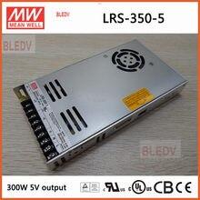 5 v 60A LRS-350-5 Mean Well 300 w saída Meanwell LED Mudar o modo de fornecimento de energia