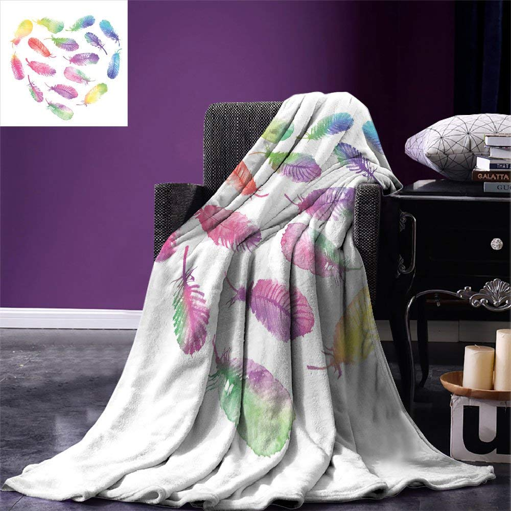 Replacement Batteries Custom Soft Fleece Throw Blanket Afro Decor Ethnic Pattern With Traditional Tribal Boho Elements Exotic Zulu Woman Print Ginger Power Source