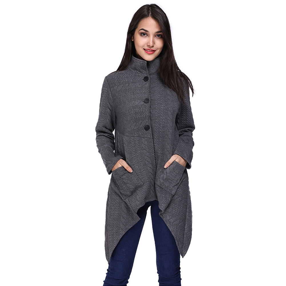 Elastic Cardigan Winter Sweater Women Pocket Knitted Cardigan Female Coat Casual Sweater ...