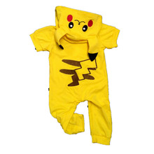 6d18d9449b7 Halloween Baby Boy Clothes Newborn Baby Cartoon Pokemon Romper Baby Girls  Pikachu Jumpsuit Cosplay Costumes H0038