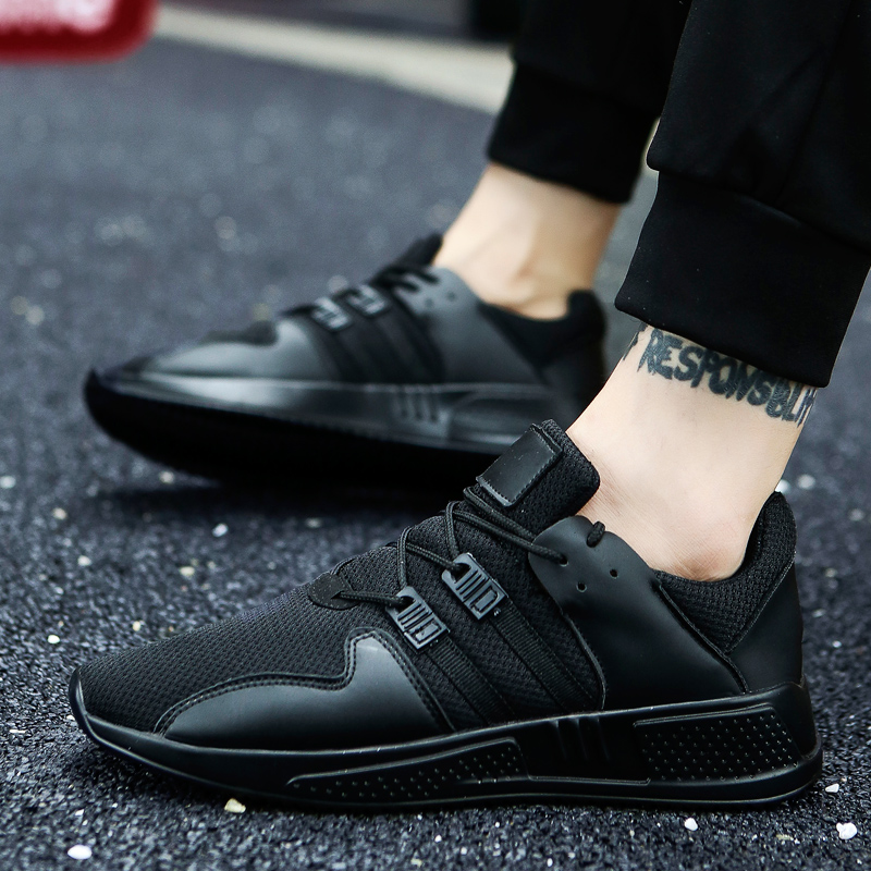 Men Casual Shoes Lace up Light Breathable Summer Shoes for Men Superstar shoes tenis masculino esportivo