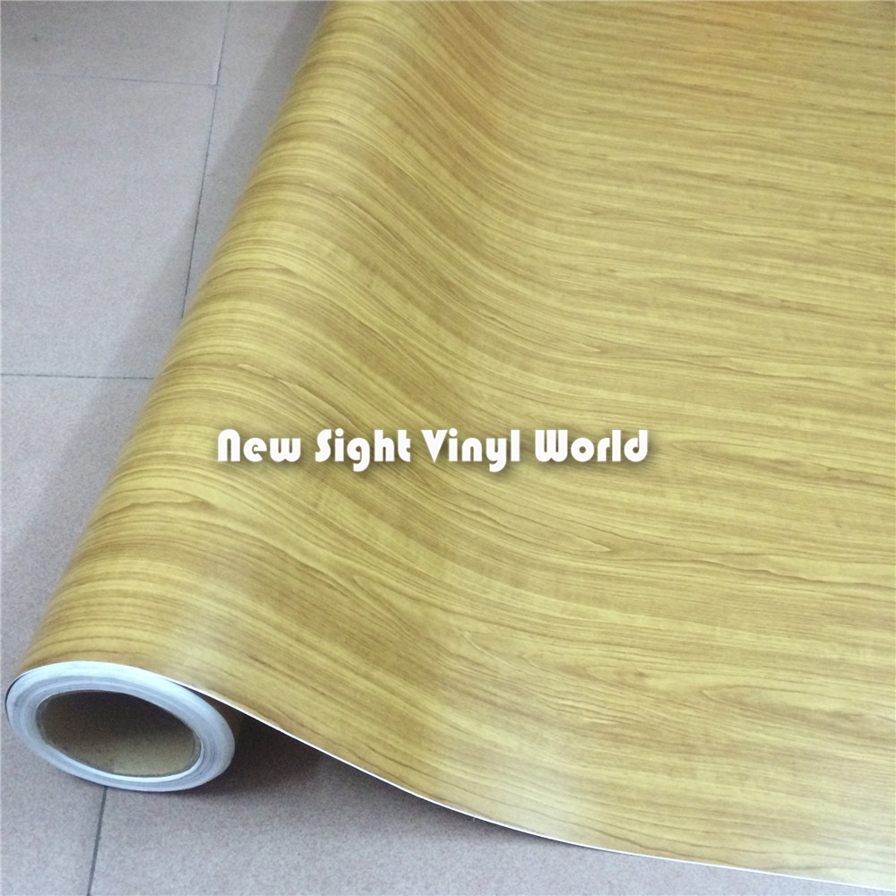 Rosewood Wood Grain Vinyl Film Wood Vinyl Car Wrap Bubble Free Interier Decoration Size:1.52X20m/Roll