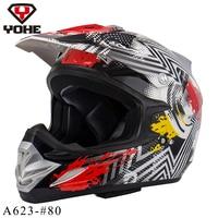 2016 New Motorcycle Helmet Mens Moto Helmet Top Quality Capacete Motocross Off Road Motocross Helmet