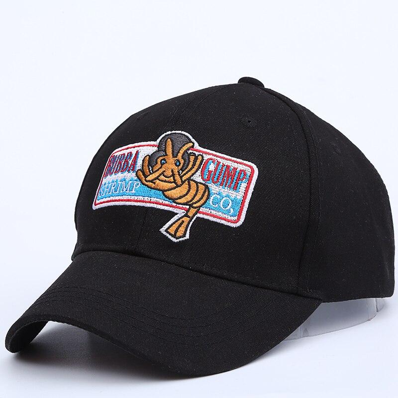 2017 nuovo 1994 BUBBA GUMP GAMBERETTI CO. Baseball cap uomini   donne Sport  Cap Estate Ricamato Cappello di estate Forrest Gump Costume in 2017 nuovo  1994 ... 12d8d856442f