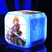 Attack On Titan Digital Clock