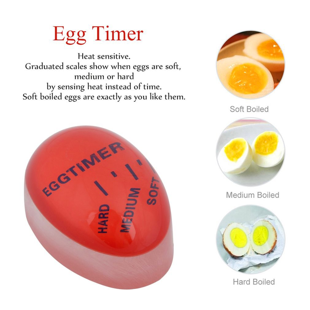 Egg Perfect Color Changing Timer Yummy Soft Hard Boiled Eggs Cooking ...