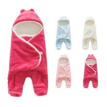 Весенне-осенний стильный флисовый хлопковый спальный конверт для малышей спальный мешок детская прогулочная коляска Пеленальное Одеяло 4 цвета