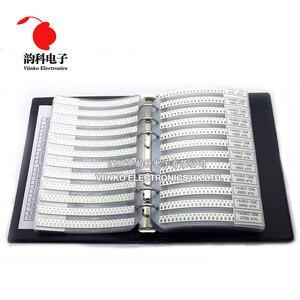 Image 1 - 1206 1% SMD Resistor Sample Book 1/4W 0R 10M 170valuesx25pcs=4250pcs Resistor Kit 0R~10M