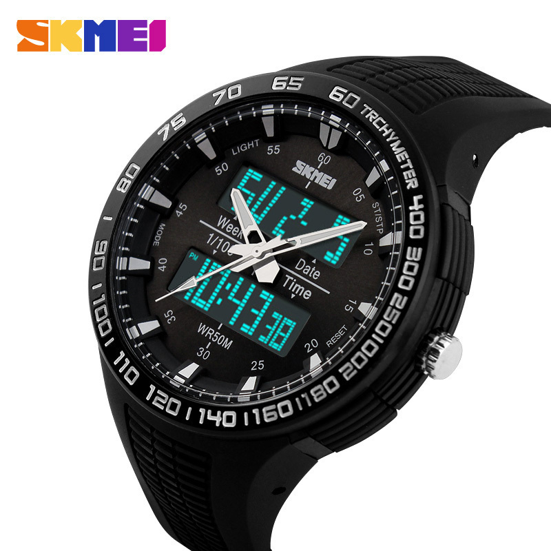 2016 Top SKMEI font b Men b font Sports Military Quartz Watches Luxury Brand Fashion Casual