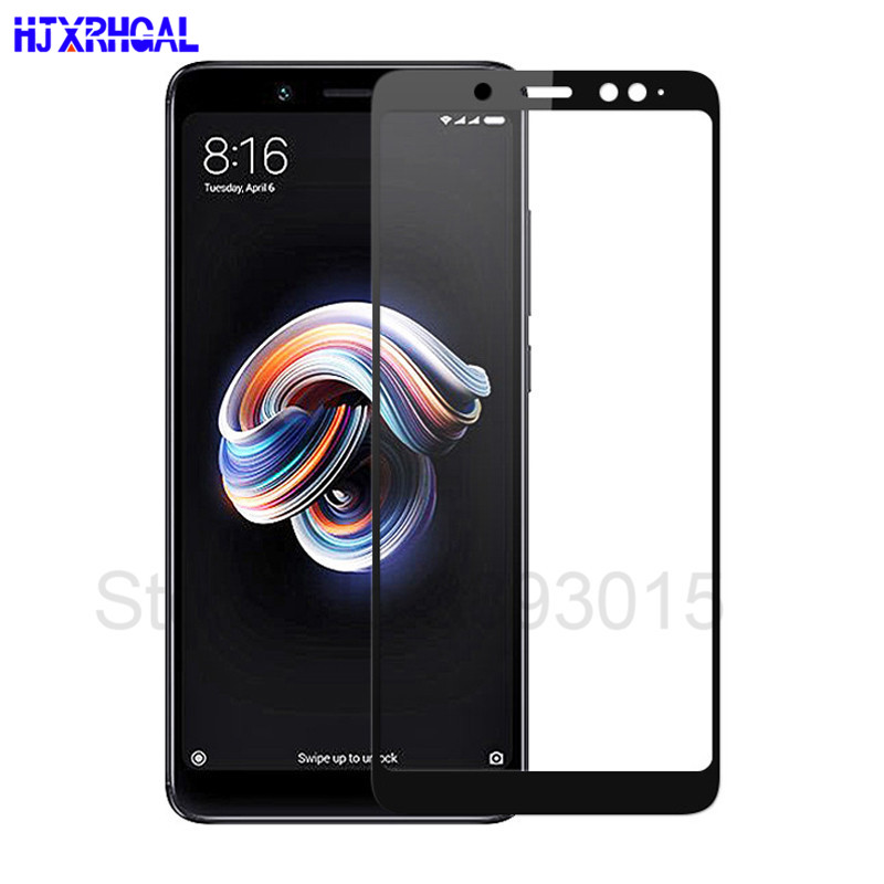 3D Full Cover Tempered Glass For Xiaomi Redmi Note 5 Pro Screen Protector For Redmi Note 5 Global Version Safety Protection Film