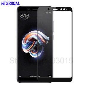 Image 1 - 3D Volle abdeckung Gehärtetem Glas Für Xiaomi Redmi Hinweis 5 Pro Screen Protector Für Redmi Hinweis 5 Globale Version sicherheit schutz Film