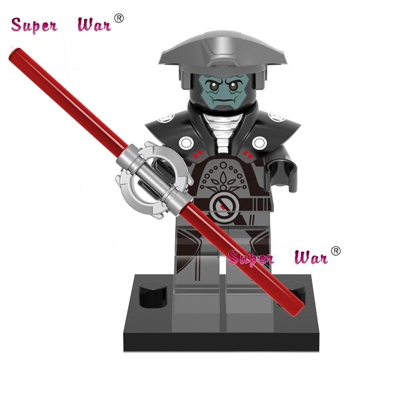 1PCS star wars superhero marvel Rogue One Inquisitor building blocks action sets model bricks toys for children