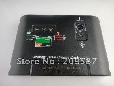 20A 12 V/24 V авто отличить PWM регулятором солнечного уличного света Панель Зарядное устройство контроллера