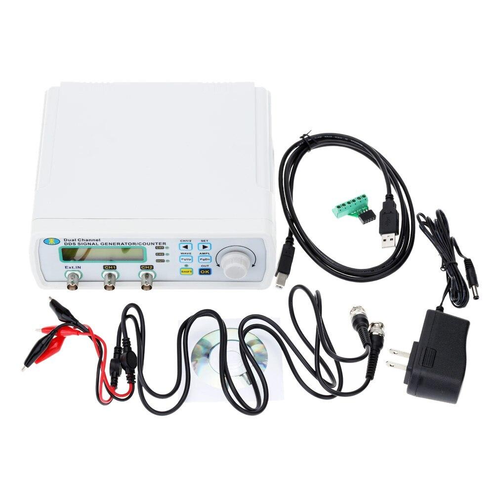 Mini générateur de Signal numérique DDS fonction compteur de Source de Signal double canal générateur de fréquence de forme d'onde arbitraire 200msa/s 25MHz - 2