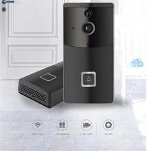 Беспроводной wifi 720p дверной звонок 166 градусов широкоугольный