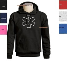 Hot sale man Hoodies EMT EMS Logo Sweatshirt Emergency Medical Technician Logo Hoodie SIZES S-3XL Sweatshirt цена в Москве и Питере
