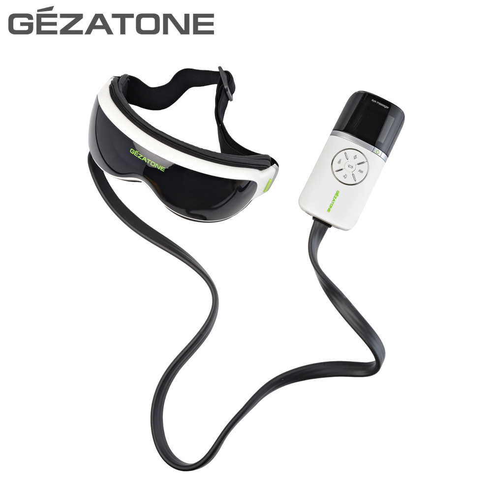Eye Care Tools Gezatone 1301161 lymphatic drainage eyes massager vibration massage pneumatic magnetic eye care massager
