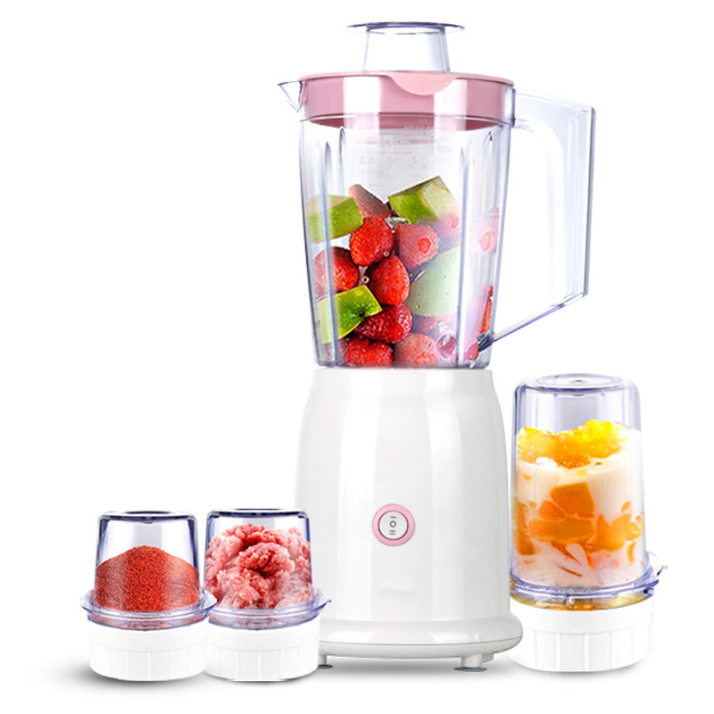 Blenders The multi-function household electric mixer is used to grind the juice. blenders the multi functional cooking machine uses the smart juice to grind mincing machine
