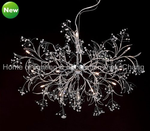 new design luxurious crystal chandelier stainless steel. Black Bedroom Furniture Sets. Home Design Ideas