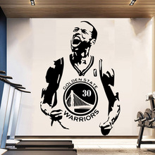 Basketball Golden State 30 Stephen Curry Decoration Sticker Home mural For Kids Rooms bedroom Decor Wall Art Decal 30 rev 30 30 stephen curry jersey