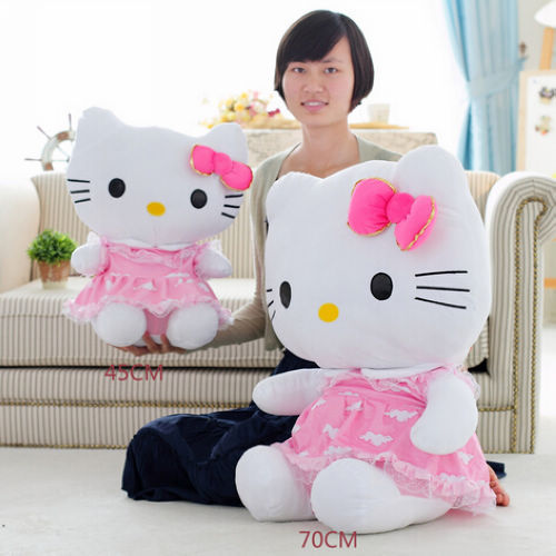Fancytrader 27\'\' 70cm Giant Plush Stuffed Hello Kitty, 3 Colors Available! Free Shipping FT90157 (8).jpg