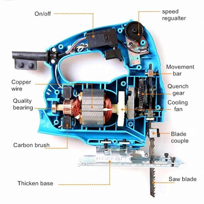 Sega elettrica a percussione fai-da-te con sega elettrica più 10 - Utensili elettrici - Fotografia 5