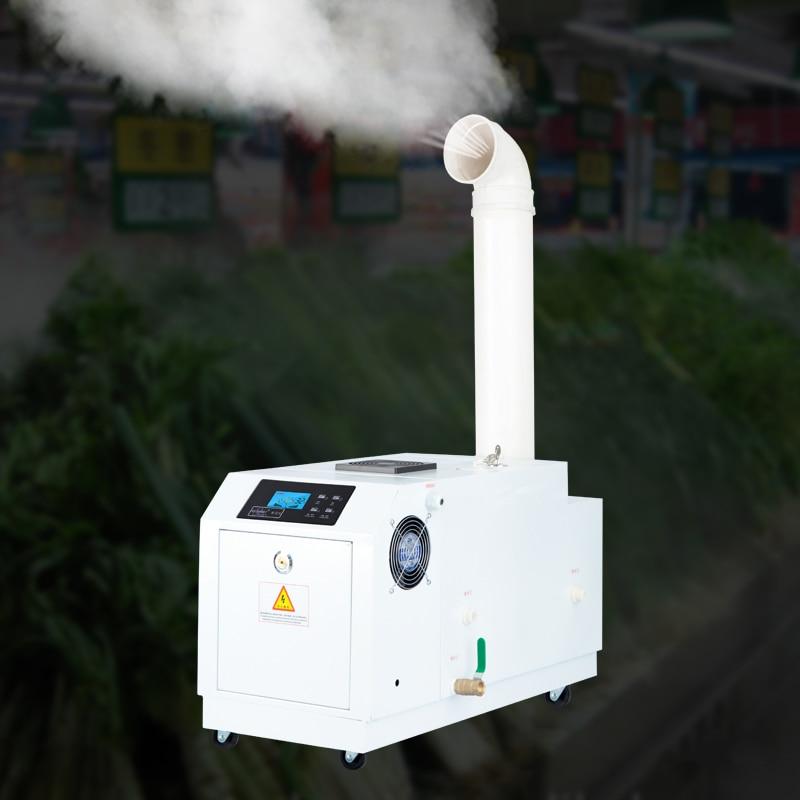Industrial Ultrasonic Humidifier Atomization Mute Humidification Machine Commercial Humidifier For Basement Workshop