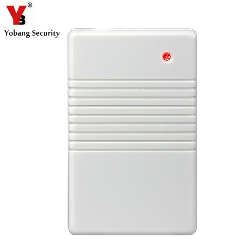 YobangSecurity 433MHZ Wireless Signal Repeater G90B Alarm System Stronger Signal Stronger To Protect Home Security. golden security wireless signal repeater booster extender dual antenna transfer for home alarm security system 433mhz