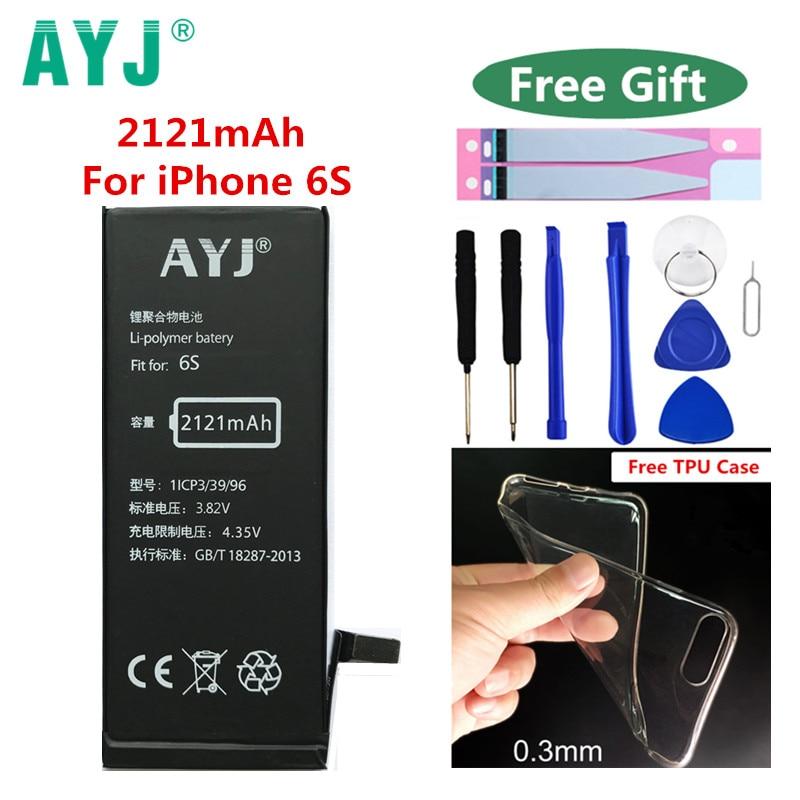AYJ Battery for Phone-Li-Polymer Apple iPhone Original 6S 2121mah Package Tools High-Capacity