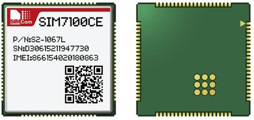 SIM7100CE Simcom 4G 100% nouveau et Original distributeur authentique dans le stock TDD-LTE/FDD-LTE/WCDMA intégré module quadri-bande
