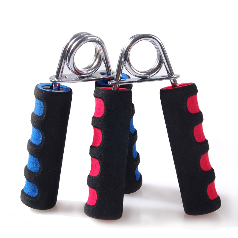 A Type Gripper Fitness Hand Exerciser Grip FatGrip Wrist Increase Strength Spring Finger Pinch Carpal Expander